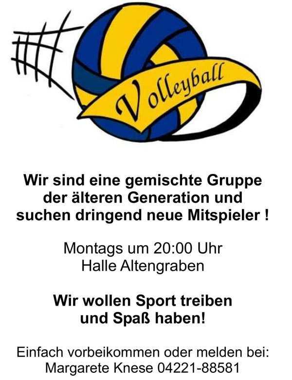 img news volleyball freizeit sucht mitspieler